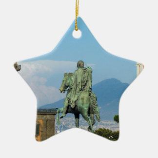 Piazza Del Plebiscito, Neapel Keramik Ornament
