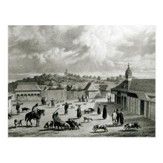 Piazzade San Carlos de Chiloe, 1835] Postkarte
