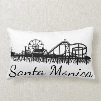 Pier-Strand-Riesenrad Kaliforniens Santa Monica CA Lendenkissen