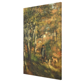 Pierre ein Renoir | Jules Le Coeur im Wald Leinwanddruck