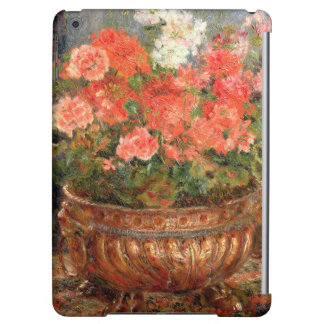 Pierre ein Renoir   Pelargonien in einem kupfernen