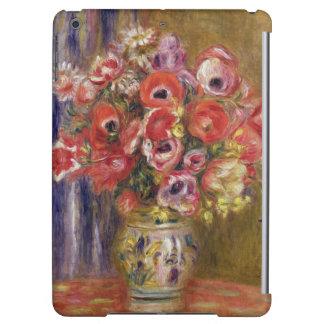 Pierre ein Renoir   Vase Tulpen und Anemonen