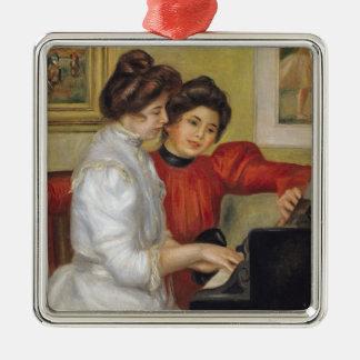 Pierre ein Renoir | Yvonne und Christine Lerolle Silbernes Ornament