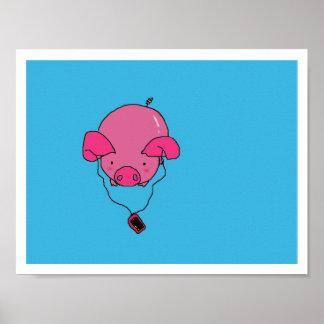 Pig Music Poster