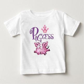 PIGCESS NIEDLICHER Baby-Geldstrafe-Jersey-T - Baby T-shirt