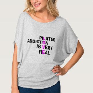 Pilates Sucht - lustiges Pilates Shirt