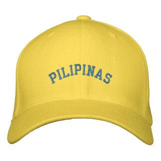 Pilipinas Baseballmütze Bestickte Baseballkappe