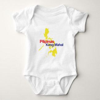 Pilipinas Kong Mahal Baby Strampler