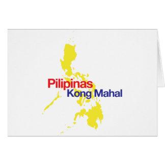 Pilipinas Kong Mahal Grußkarte