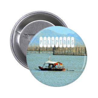 Pilipinas Runder Button 5,7 Cm