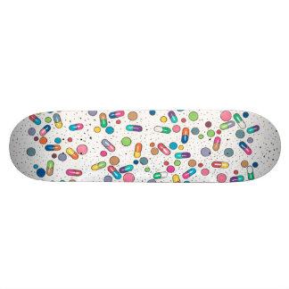 Pillen 18,4 Cm Mini Skateboard Deck