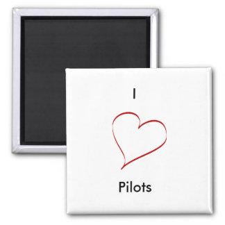 Piloten der Liebe I Magnete
