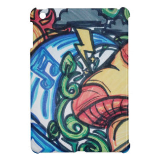 Pilz Hippie iPad Mini Hülle