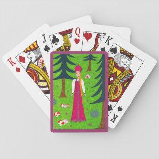 Pilz-Wald Spielkarte