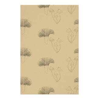 Pilze Büropapiere