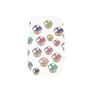 Pilze Nagelaufkleber