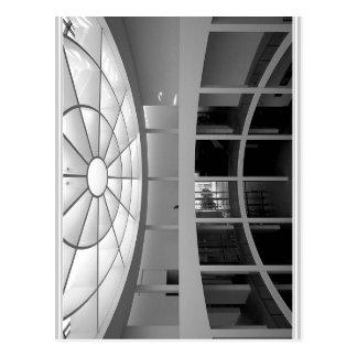 Pinakothek der Moderne M? nchen Blick die herein Postkarte