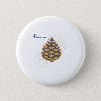 Pinecone Runder Button 5,7 Cm