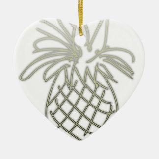 PineDoodle Keramik Herz-Ornament