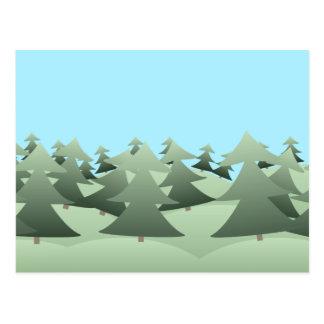 Pineforest Postkarte