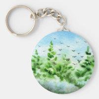 Pinetree Keychain