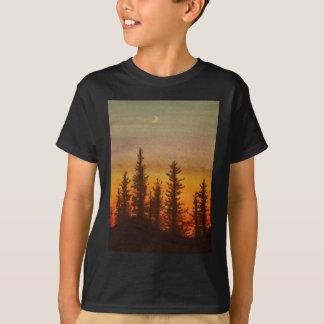 Pinetree Sonnenuntergang T-Shirt