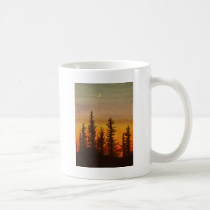 Pinetree Sonnenuntergang Tasse