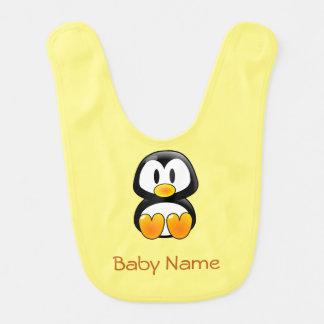 Pinguin-Baby-Schellfisch Lätzchen