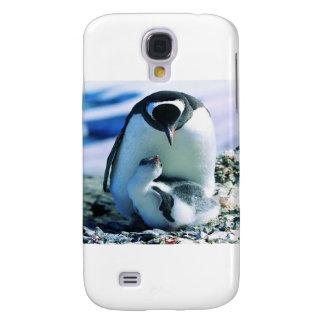 Pinguin-Elternschaft Galaxy S4 Hülle