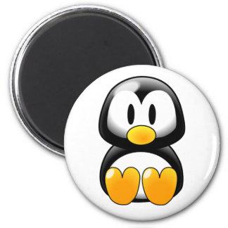 Pinguin-Magnet Runder Magnet 5,1 Cm