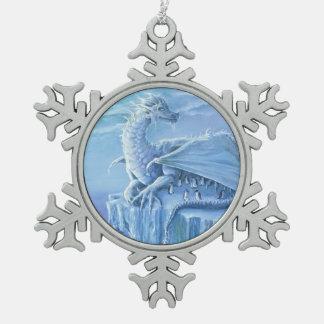 Pinguin-Schutzzinnverzierung Schneeflocken Zinn-Ornament