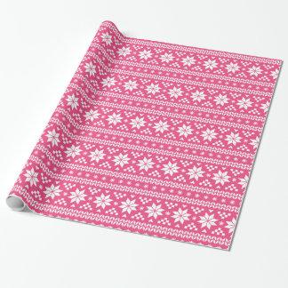 Pink-angemessenes Geschenkpapier