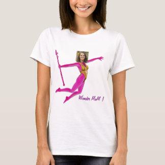 Pink Fushia Wonder Woman, Fairy Wand - T-Shirt