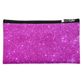 Pink-Schein-Glittery Spaß-kosmetischer Fall Kosmetiktasche