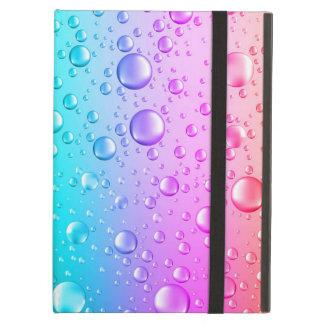 Pink-u. Aqua-blaue Steigungs-Wasser-Tröpfchen