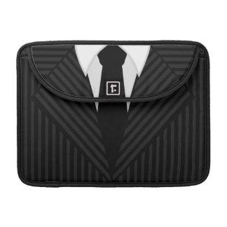 """Pinstripe-Anzug und Krawatte 13"""" Macbook Prohülse Sleeve Für MacBooks"""