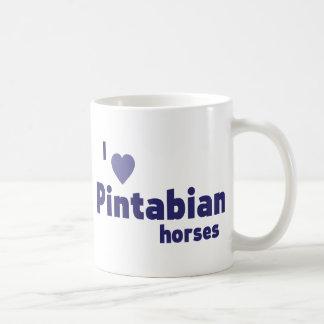 Pintabian Pferde Kaffeetasse