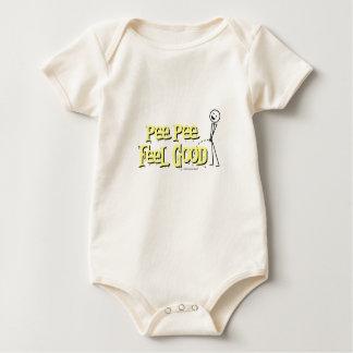 Pipi-Pipi-Gefühl gut Baby Strampler