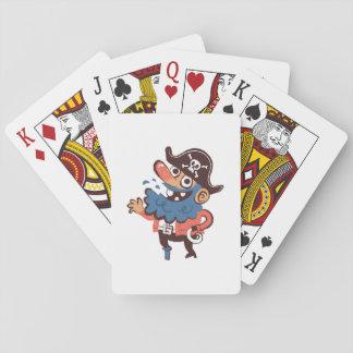Pirat - gelegentlich spielkarten