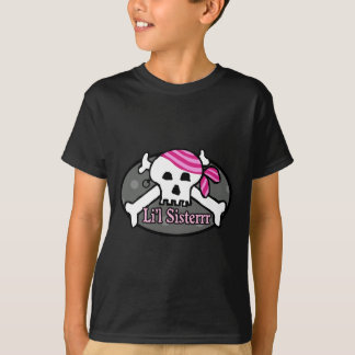 Piraten-kleine Schwester T-Shirt