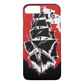 Piraten-Schiff und Flagge iPhone 7 Fall iPhone 8/7 Hülle