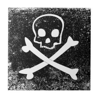 Piratenflagge Keramikfliese