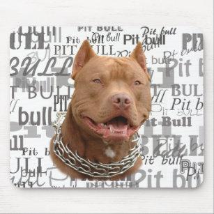 Pitbull Hund Mousepad