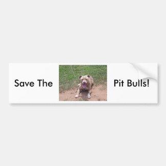 Pitbull-Produkte Autoaufkleber