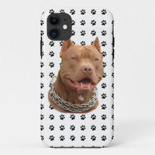 Pitbull Tatzen iPhone 11 Hülle