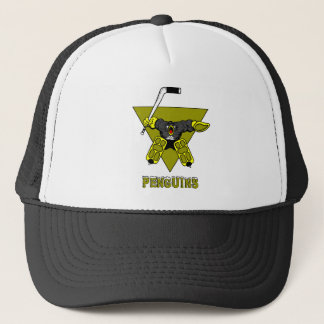 Pittsburgh-Hockey-Tormann-Hut Truckerkappe