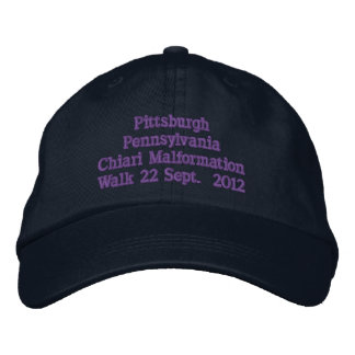 Pittsburgh Pennsylvania 2012 Bestickte Baseballkappe