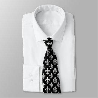 PixDezines Fleur de Lis/DIY Hintergrundfarbe Personalisierte Krawatten