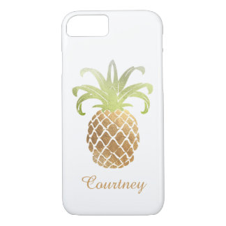 PixDezines Pineapple/DIY Text iPhone 8/7 Hülle