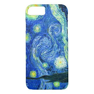 PixDezines Van Gogh sternenklares Night/St. Remy iPhone 7 Hülle